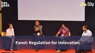 Panel: Regulation for innovation