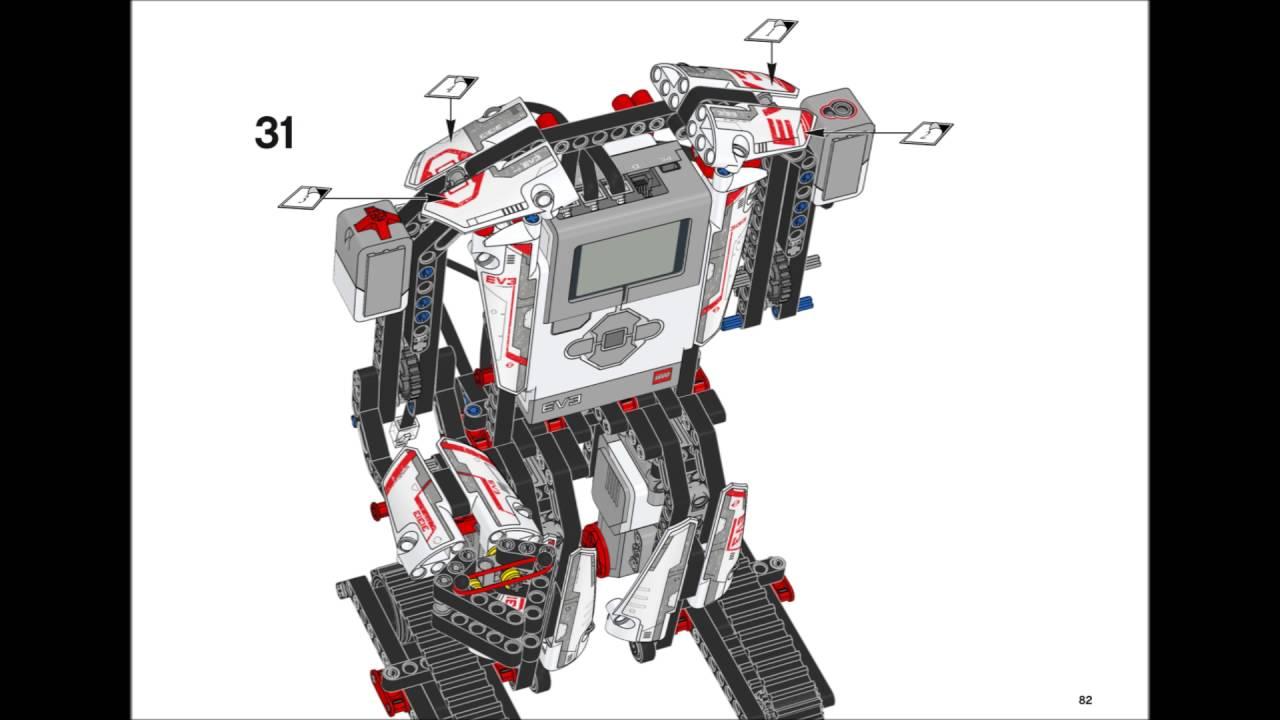 Lego Mindstorms EV3 31313 - EV3RSTORM Building ...
