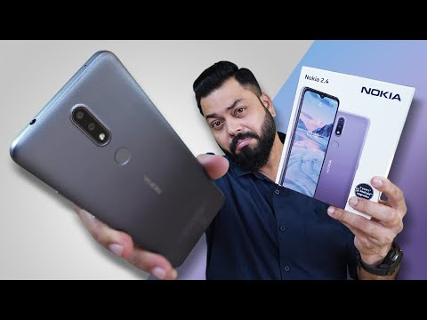 Nokia 2.4 Unboxing And First Impressions ⚡ Big Display, Big Battery, Stock Android & More