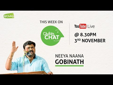 Chutney Chat Live with Gobinath - Episode #2