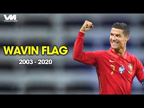 Cristiano Ronaldo ● K'NAAN – Wavin' Flag ► Best LEGENDARY Moments for PORTUGAL