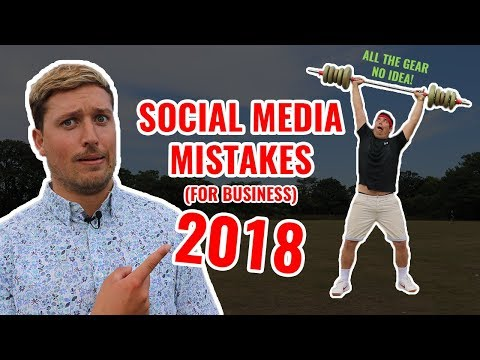 Social Media Mistakes in 2018 (and how to fix them fast!)