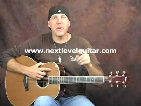 Learn acoustic guitar musical strumming rhythm timing chord ...