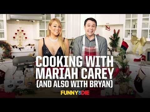 Cooking with Mariah Carey And also with Bryan