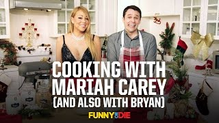 Cooking with Mariah Carey (And also with Bryan)