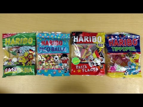 HARIBO Football Editions & more