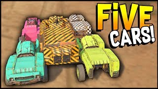 Crossout - 5 CARS in ONE! WHICH IS BETTER? QUAD CAR or THIS? - Crossout Gameplay