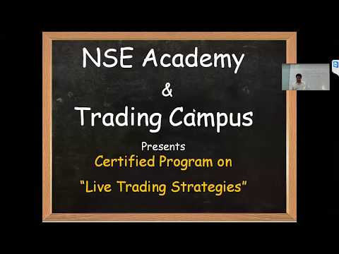 "NSE Academy Certified course on ""Live Trading Strategies"" by Trading Campus"