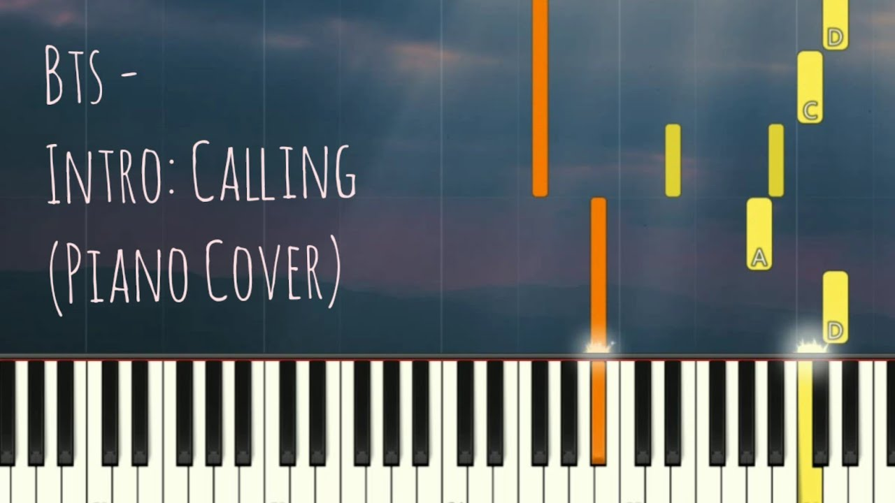 Download BTS - Intro: Calling | 防彈少年團 방탄소년단 (Piano Cover, Synthesia Tutorial)