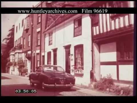 Rye And Chichester Sussex, 1960s - Film 96619