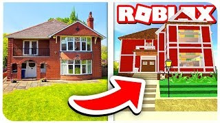 BUILD a HOUSE like in real life! | ROBLOX ON RUSSIAN |