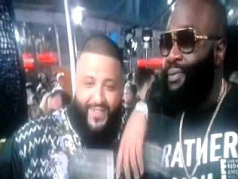 American Music Awards : Live Rick Ross & Dj Khaled