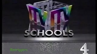 ITV Schools and Channel 4 Continuity 11th February 1993