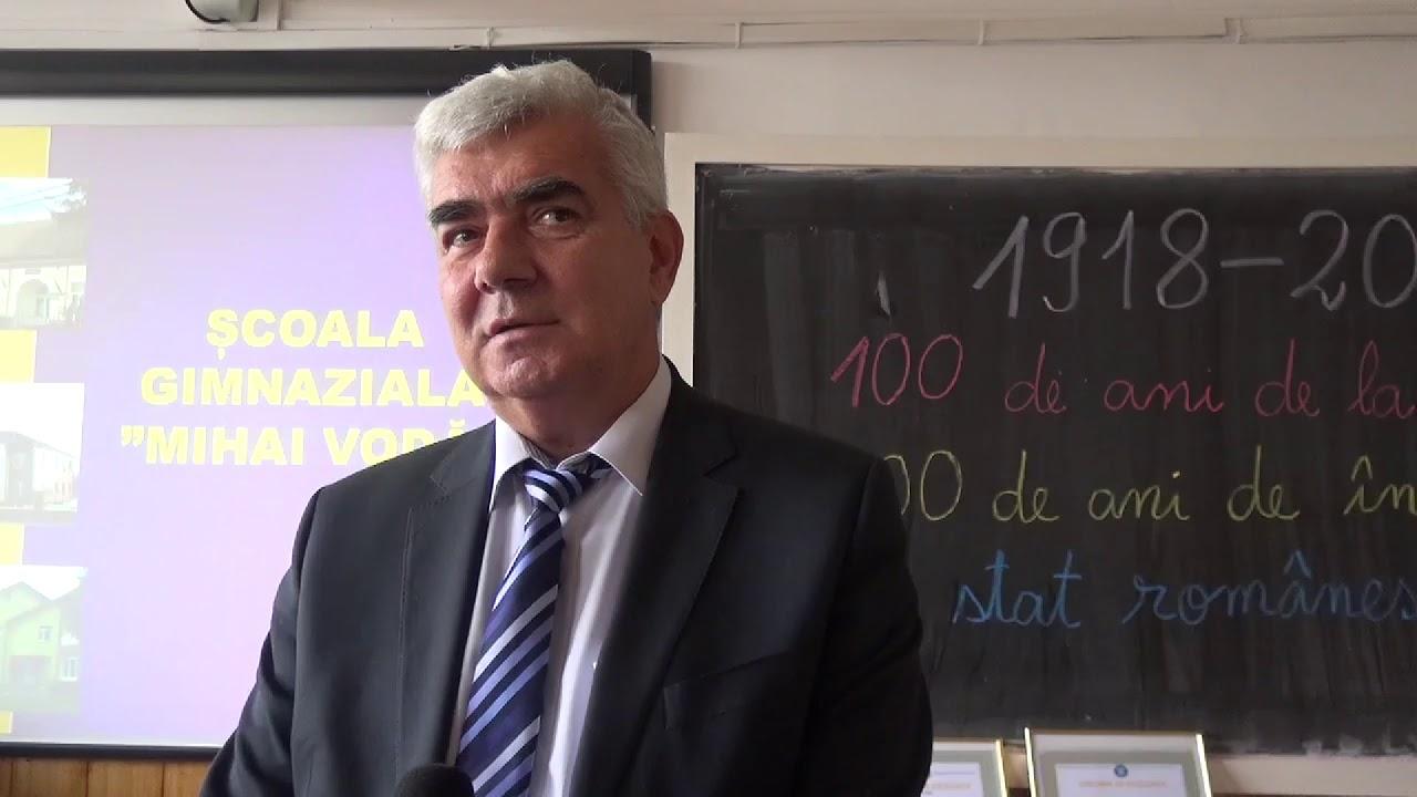 """Școala """"Mihai Vodă"""" a împlinit 100 de ani (26.10.2018)"""