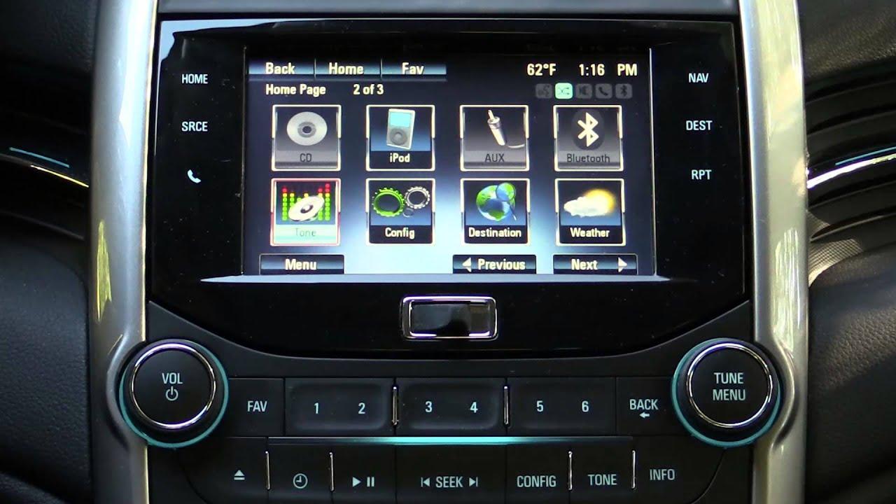 2014 Chevrolet Malibu MyLink Infotanment Review YouTube