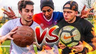 ALT VS NEU FUßBALL CHALLENGE! (Ball von 1895)