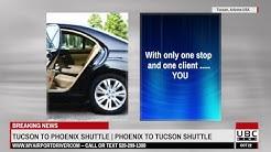 Tucson to Phoenix Airport Shuttle Door to Door Car Service