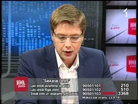 """LTV1: """"100.panta Preses klubs"""": """"Sakaņas centrs"""" (18.05.12., 2.daļa)"""