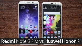 Honor 9i vs Redmi Note 5 Pro Full Comparison: Which One is Best For You?