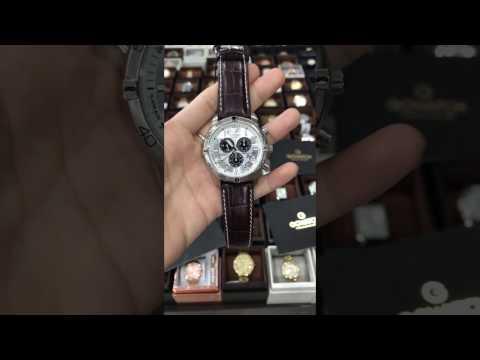-CITIZEN Perpetual Calendar Eco-Drive Chronograph Silver Dial Men's Watch BL5470-06A
