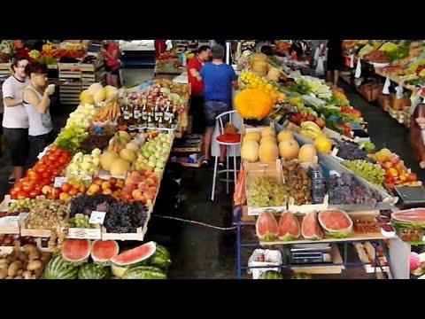 #Черногория рынок в Будве (#Montenegro. Bazaar in Budva)