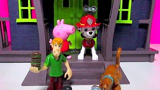 SCOOBY DOO HAUNTED MANSION Full Episode + PAW PATROL [Marshall] NICKELODEON & PEPPA PIG NICKELODEON