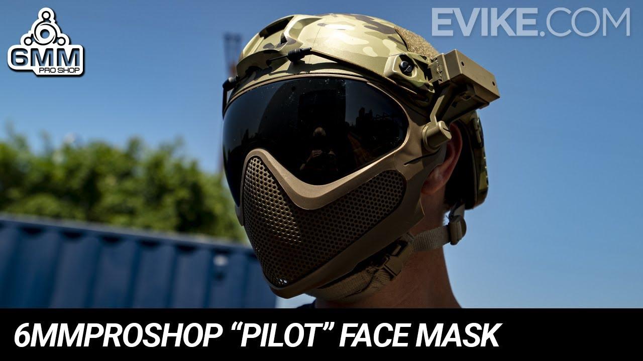 "6mmProShop ""Pilot"" Face Mask - Quick Look"