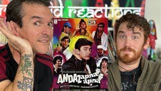 ANDAZ APNA APNA Trailer REACTION!! | Salman Khan, Aamir Khan