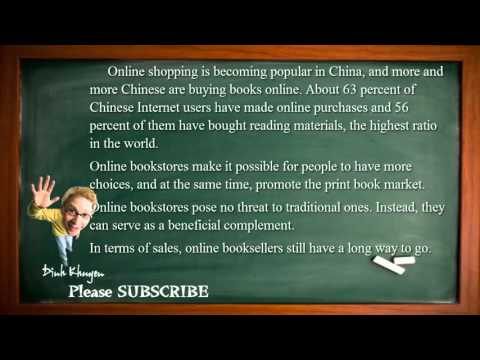 Best English Lessons: Lesson 84: Buying Books Online