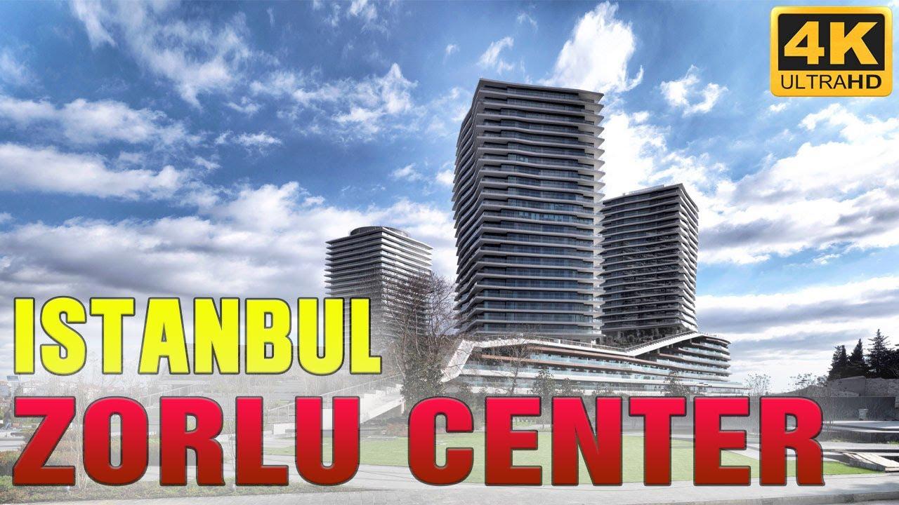 ISTANBUL WALK TOUR  🇹🇷  ZORLU CENTER SHOPPING MALL TURKEY 4K