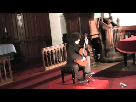 Theme,variations and fuga on la Folia  by Manuel Ponce played in concert in Paris by Judicael Perroy