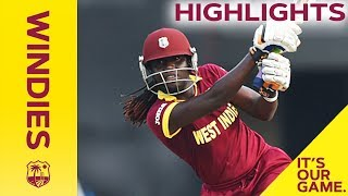Windies Women v South Africa 1st ODI 2018  Full Highlights