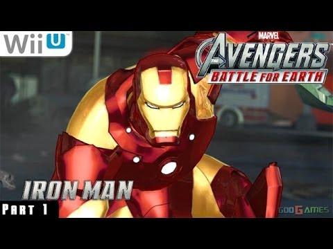 Marvel Avengers Battle for Earth - WiiU Gameplay 1080p part 1 (Manhattan)