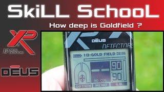 XP Deus Gold Field for finding Deep targets - XP Deus Tutorials