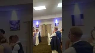 AWESOME!  Gangsters paradise bridesmaid rap