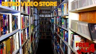 Abandoned Retro Video Rental Store (Everything Inside)