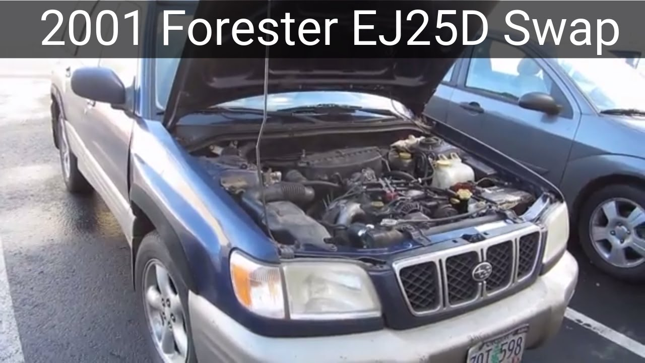 Subaru Forester (SF) EJ25 Engine Swap
