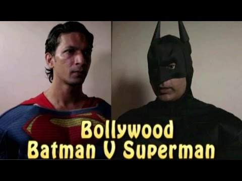 Batman V Superman in hindi #बैटमैन सुपरमैन हिंदी फाइट  #Funny teaser trailer # Fanmade Parody
