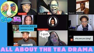 Joleen Lunzer & BusyBlu | All About The Tea EXPOSED | Sip & Ki with Joleen Lunzer & BusyBlu