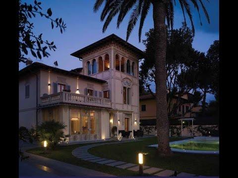 902 Luxury villa in liberty style for sale near Forte dei Marmi