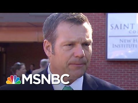 Controversial Voter Fraud Commission Heads To New Hampshire | MTP Daily | MSNBC