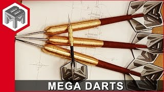 MEGA Darts for the Mega Dartboard - How to Make Them