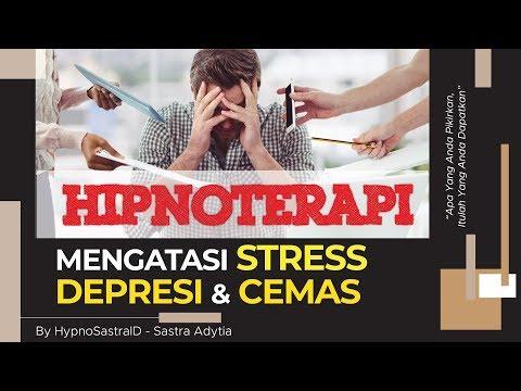 Hipnoterapi - Meredakan Stress, Depresi dan Kecemasan FULL Afirmasi dan Brainwave Music Relaxing