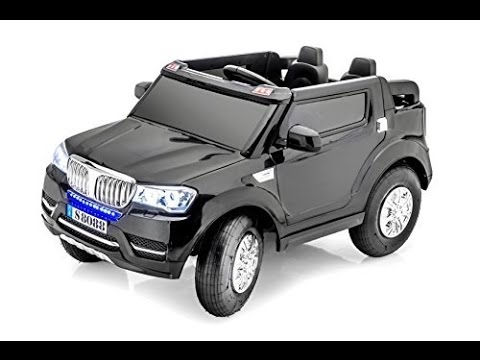 Stunning 2 Seater Bmw Jeep Style 12v Battery Operated Ride On Car