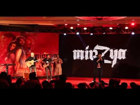 Siddharth Mahadevan at the Mirzya Music Launch