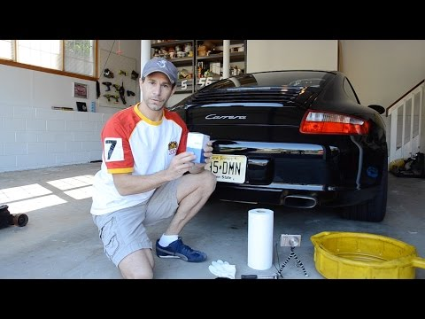 How to Change Oil on a Porsche 911 (997.1)