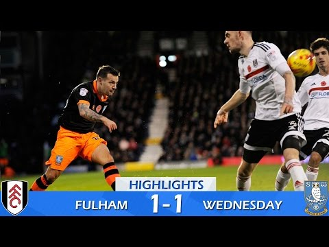 Fulham 1 Sheffield Wednesday 1 | Extended highlights | 2016/17