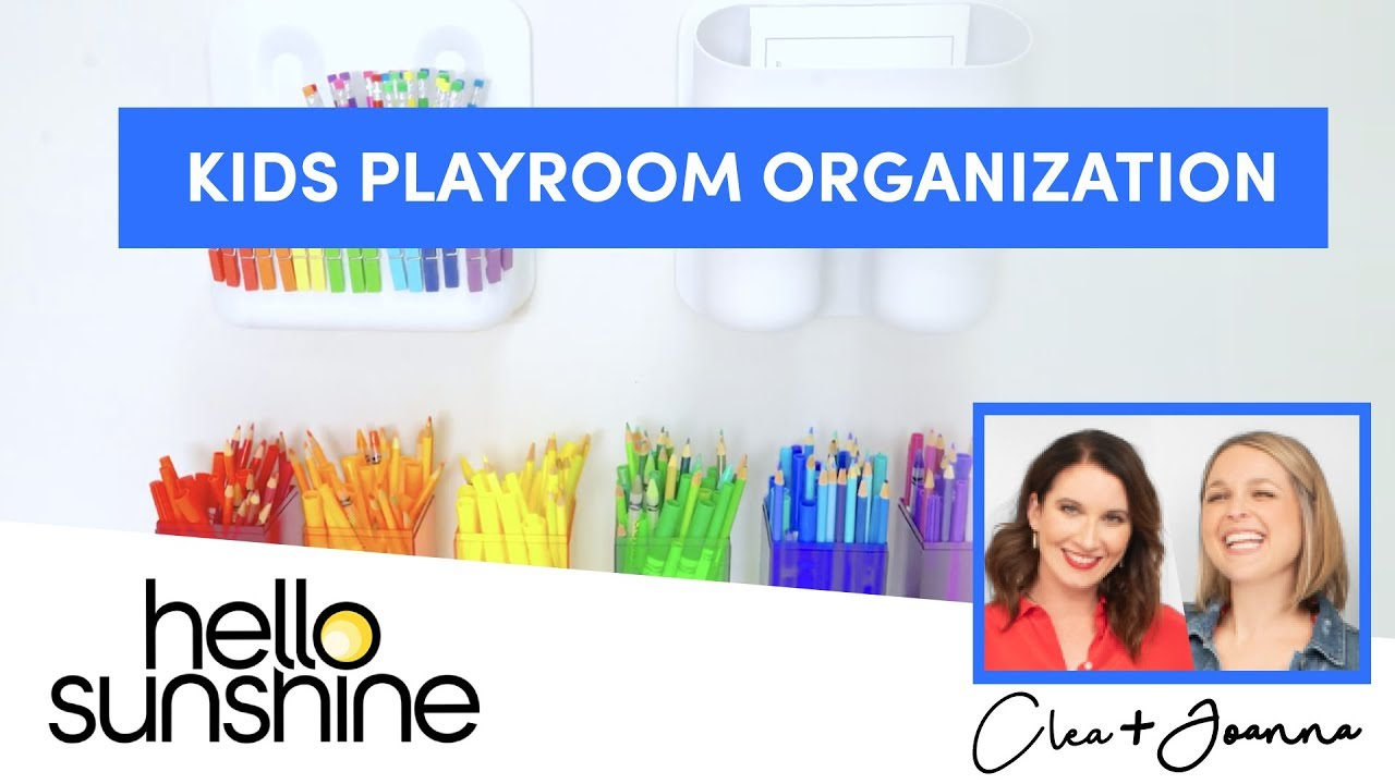 How to Organize A Kid's Playroom with The Home Edit | Master the Mess EP 12