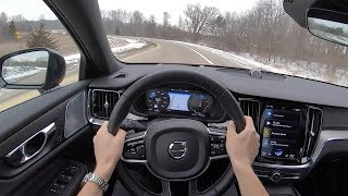 2019 Volvo S60 T6 R-Design - POV Test Drive (Binaural Audio)