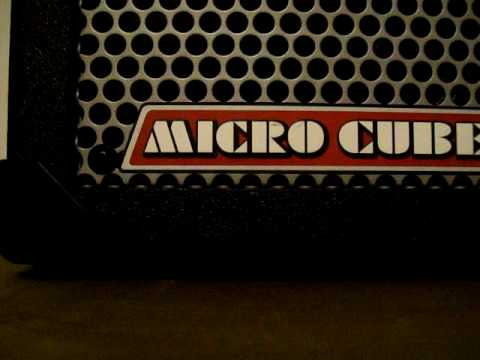 Roland Micro Cube medium gain